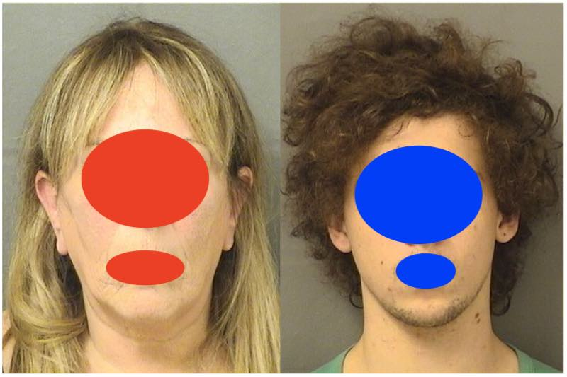 Mom & Son in Same Crime Report