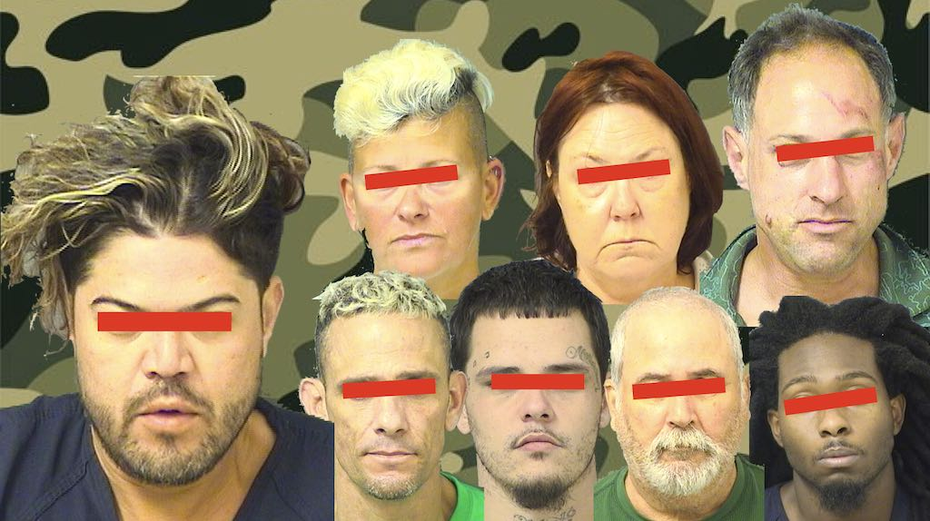 Sandalfoot Shotgun & Bad Hair Crime Report